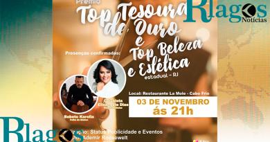 A maior premiação do Estado do Rio de Janeiro acontece em Cabo Frio.