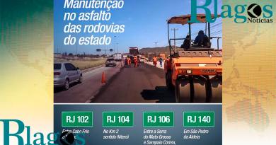 Região dos Lagos Receberá asfalto novo diz Governador Wilson wiltzel