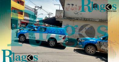 Suspeito do tráfico é morto e policiamento é reforçado no Lagomar bairro de Macaé