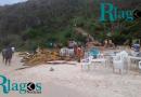 Quiosque da Praia do Forno são retirados em Arraial do Cabo
