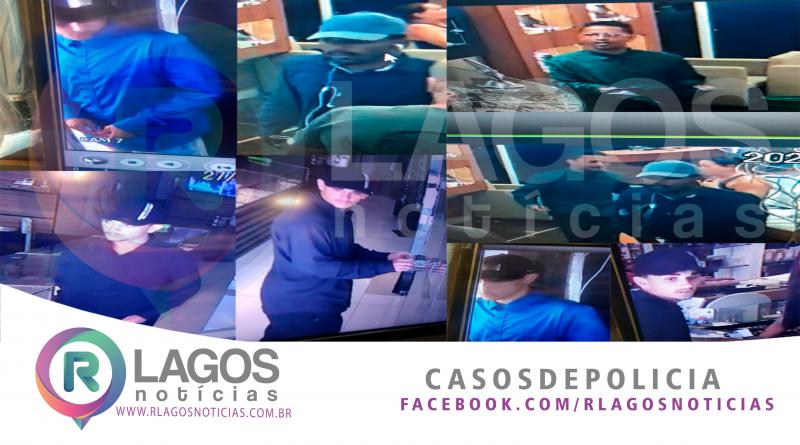 """Policia Civil investiga assalto as duas joalheria de Cabo Frio """" prejuízo passa de R$: 600 mil reais em joias diz policia"""""""