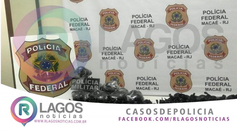 Polícia Federal e PM apreendem 7 mil papelotes de cocaína dentro de casa em construção em Macaé