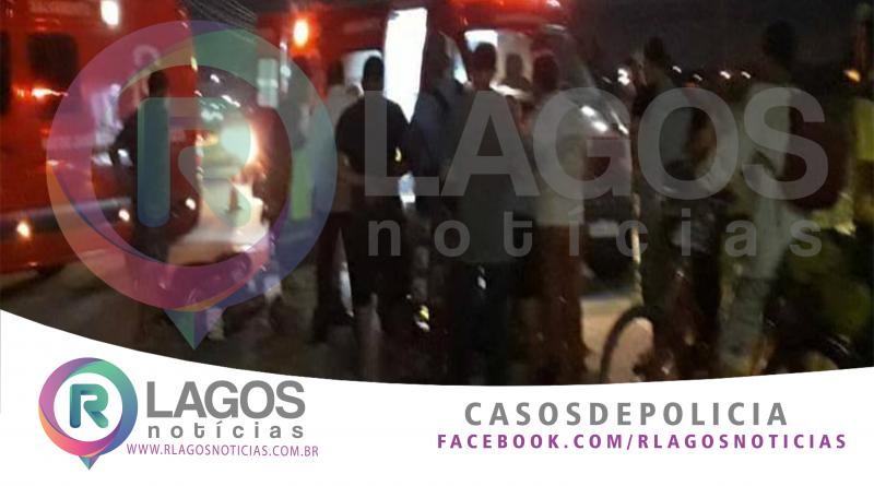 Colisão entre carro e moto deixa um homem ferido em Macaé