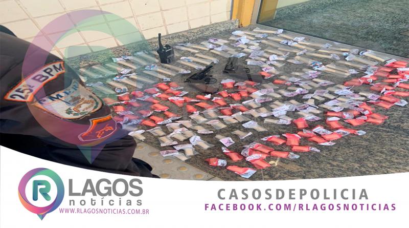 Confronto entre traficantes e PM, deixa 1 morto e 3 presos no bairro Colina em São Pedro da Aldeia