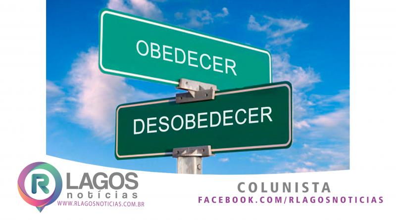 Colunista Diego Dias /  Um Espírito Reto e Obediência.
