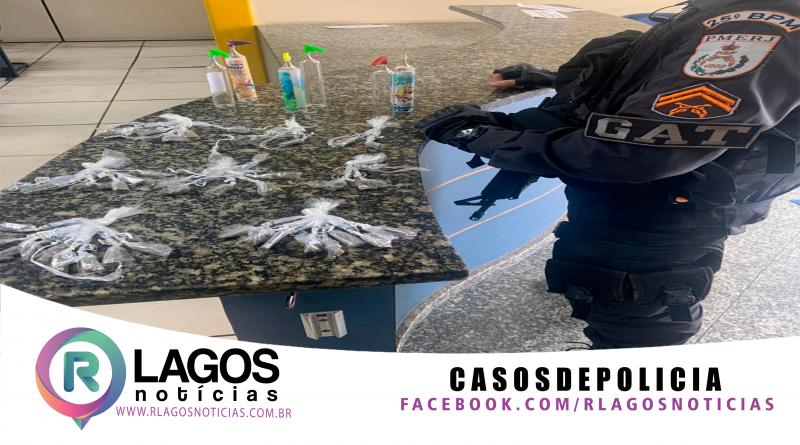 GAT, prende vulgo Gustavinho suspeito do tráfico de drogas do Jacaré em Cabo Frio