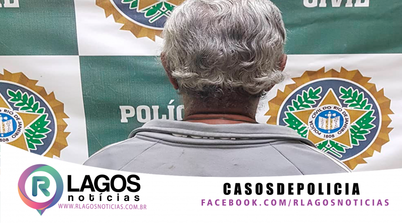 Polícia Civil da 129ª DP de Iguaba Grande prende homem foragido pelos crimes de violência doméstica