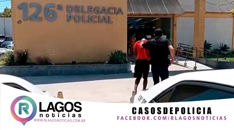 Policia Civil da 126ª DP, de Cabo Frio, prende homem foragido da justiça pelo crime de homicídio