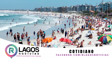 Novo decreto libera banho de mar, música ao vivo e amplia vagas de ônibus de turismo em Cabo Frio