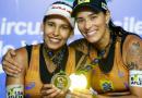 Ágatha e Duda vencem a segunda em Saquarema e lideram ranking do Circuito