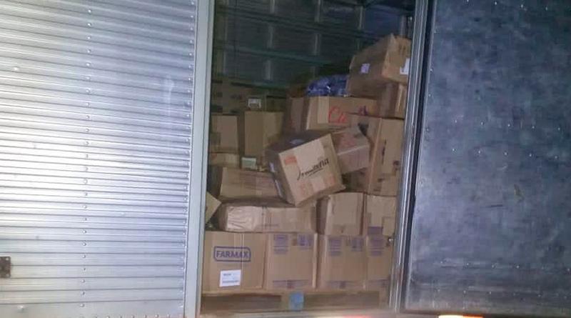 Policiais de Campos, RJ, recuperam caminhão com carga de remédios roubado em Rio das Ostras