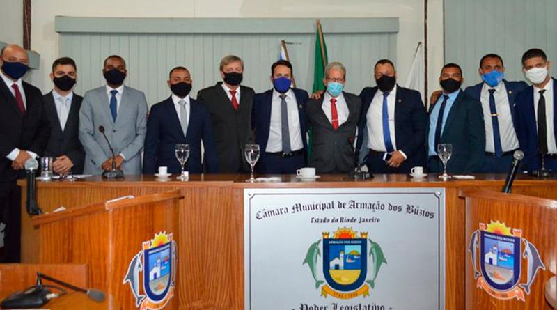 Rafael Aguiar é eleito presidente da Câmara de Armação dos Búzios biênio  2021/2022 - Rlagos Notícias